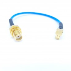 SMA(F)-MCX(M)RA for 30Cm SS405 Cable Assembly/50옴