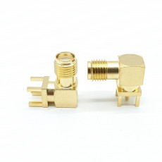 12.4GHz SMA(F) RA 4R PCB(4R깊이: 4.0mm)