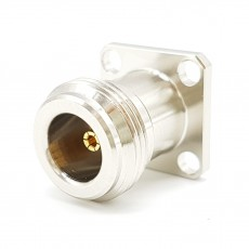 6GHz N(F)ST 4Hole Flange Connector-5-3mm