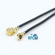 I-PEX-MHF2-MHF4 PIug 30mm Cable Assembly