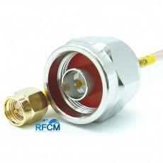 N(M)수컷-SMA(M)수컷 RG-316/S Cable Assembly 50옴
