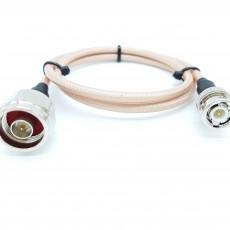 N(M)수컷-BNC(M)수컷 RG-400 40Cm Cable Assembly-50옴