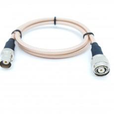 BNC(F)암컷-TNC(M)R.P(역심형) RG-400 40Cm Cable Assembly-50옴