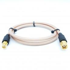 SMA(F)암컷-SMA(M)R.P(역심형)암컷 RG-400 Cable Assembly-50옴