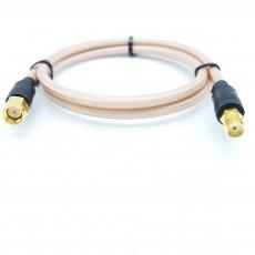 SMA(M)수컷-SMA(F)암컷 RG-400 40Cm Cable Assembly-50옴