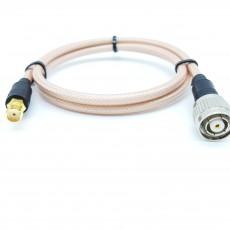 BNC(F)암컷-TNC(M)R.P암컷(역심형) RG-400 Cable Assembly-50옴