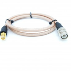 SMA(F)암컷-TNC(F)R.P수컷(역심형) RG-400 40Cm Cable Assembly-50옴