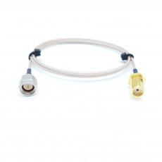 SMA(M)(수컷)-SMA(F)BH(암컷) RG-178B/U 10Cm Cable Assembly-50옴
