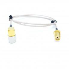 SMA(F)BH(암컷)-SMA(M)RA(수컷) RG-178B/U 10Cm Cable Assembly-50옴