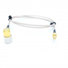 SMA(M)RA(수컷)-MCX(M)(수컷) RG-178B/U 10Cm Cable Assembly-50옴