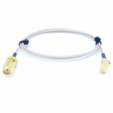 SMA(F)BH(암컷)-MCX(M)RA(수컷) RG-178B/U 10Cm Cable Assembly-50옴
