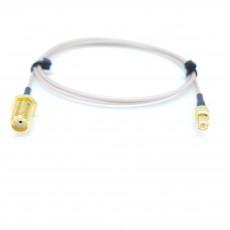 SMA(F)BH(암컷)-MCX(M)(수컷) RG-178B/U 10Cm Cable Assembly-50옴