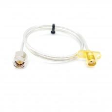 SMA(M)수컷-SMA(F)R2암컷 SF-085 Cable Assembly-50옴