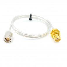 SMA(M)수컷-SMA(F)BH암컷 SF-085 Cable Assembly-50옴