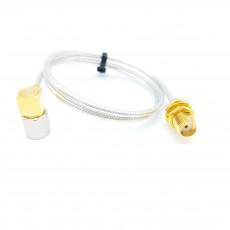 SMA(M)RA수컷-SMA(F)BH암컷 SF-085 Cable Assembly-50옴