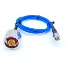 N(M)수컷-SMA(M)수컷 SS-402 Cable Assembly-50옴