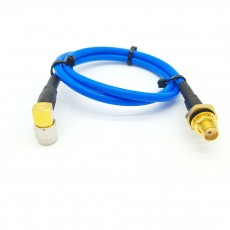 SMA(M)RA수컷-SMA(F)BH암컷(방수형) SS-402 Cable Assembly-50옴