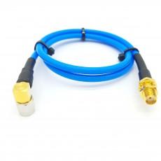 SMA(M)RA수컷-SMA(F)BH암컷 SS-402 Cable Assembly-50옴