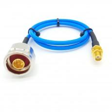 N(M)수컷-SMA(F)BH암컷 SS-402 Cable Assembly-50옴