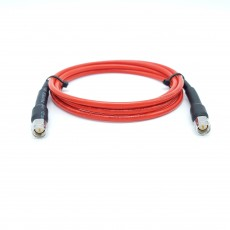 28GHz 75Cm  SMA(M) to SMA(M) HUBER+SUHNER Semi-Flexible141 FEP  Cable Assembly / 50옴