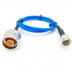 N(M)수컷-F(M)수컷 SS-402 Cable Assembly-50옴