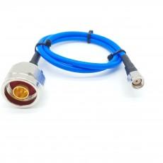N(M)수컷-SMA(M)R.P암컷_역심형_ SS-402 Cable Assembly-50옴