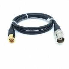 SMA(M)수컷-BNC(F)암컷 RG-58 Cable Assembly-50옴