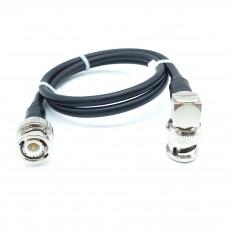 BNC(M)수컷-BNC(M)R/A수컷 RG-58 Cable Assembly-50옴