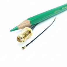 SMA(F)BH-MHF4 PIug 30mm Cable Assembly