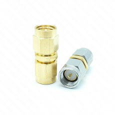 Test Adapter SMA P*P 50ohm ADAPTOR Gold plated