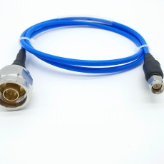 12GHz N(M)-SMA(M) SS402 Flexible Cable Assembly / 50옴