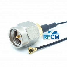 SMA(M)ST-MHF4 PIug 30mm Cable Assembly(Nickel-Gold)