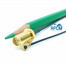 RP SMA(F)B/H수컷-MHF1암컷PIug 30mm Cable Assembly(Gold)