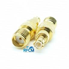 MCX(M)수컷 SMA(F)암컷 50ohm ADAPTOR DC~6GHz