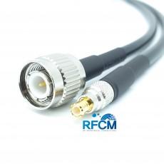 TNC(M)수컷-MCX(M)수컷 RG-58 Cable Assembly-50옴