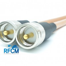 M(M)수컷-M(M)수컷 RG393 1m Cable Assembly-50옴