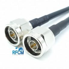 N(M)수컷-N(M)수컷 HF300(LMR300) 1m Cable Assembly-50옴