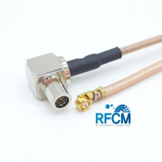 KMS530-MHF1 PIug 40mm Cable Assembly