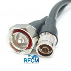 N(M)수컷-DIN(M)수컷 RG217U 1m Cable Assembly-50옴