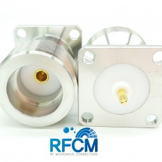 LC(F)ST 4Hole Flange PUSH Connector 3-7.5mm