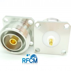 7/16 DIN(F)ST 4Hole Flange PUSH Connector 3-7.5mm