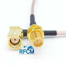 RP-SMA(F)B/H to RP-SMA(M)R/A RG316/S