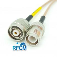 RP TNC(M)암컷(역심형)-RP TNC(F)수컷(역심형) RG-316/S Cable Assembly-50옴